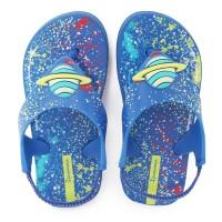 Ipanema Baby Flip Flop & Sandal Bayi - Sonhos Baby Blue/Yellow