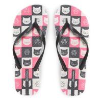 Ipanema Ladies Flip Flop & Sandal Wanita - Only Fem Grey/Black/Pink