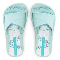 Ipanema Kids Flip Flop & Sandal Anak - Fresh Print Kids Green/White