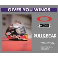 Sticker/Stiker Visor Helm - 93 Marc Marquez