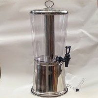 Stainless Steel Juice Beverage Dispenser Tempat Jus 8 Liter