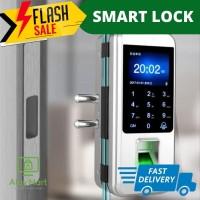 SMART ACCESS DOOR LOCK GLASS PINTU KACA ACCESSDOOR DOORLOCK SMARTLOCK