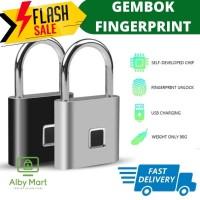 Kerui Smart Fingerprint Security Lock Kunci Gembok Sidik Jari Padlock