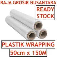 Stretch Film 50cm x 150m plastik wrapping plastic wrap