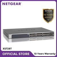 Netgear XS728T 28 Port 10 Gigabit Copper Smart Managed Pro Switch