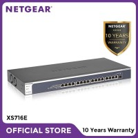 Netgear XS716E 16 Port 10 Gigabit Ethernet Smart Managed Plus Switch