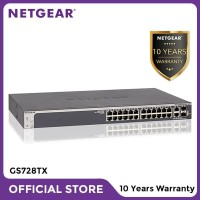 Netgear GS728TX 28 Port Gigabit Stackable Smart Managed Pro Switch L2