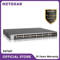 Netgear XS748T 48 Port 10 Gigabit Copper Smart Managed Pro Switch