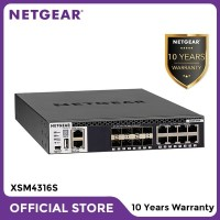 Netgear XSM4316S Stackable Managed Switch 16x10G 8x10GBASE-T 8xSFP+ L3