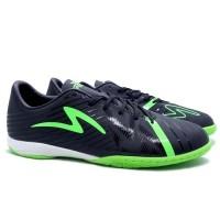 Specs Accelerator Slaz Pro IN (Sepatu Futsal) - Black/Green Gecko