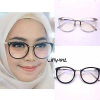 Frame kacamata 221 aksesoris wanita