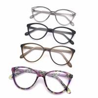 Frame kacamata 3008 kacamata round + minus plus silinder normal