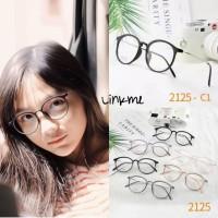 Frame kacamata Vella Eyeglasses 2125 oval lentur fashion wanita