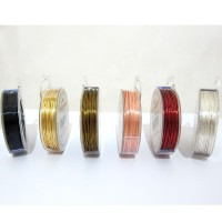 Wire Craft Kawat tembaga ukuran 1 mm Telebit Wire 100 Gram