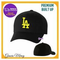 TOPI PRIA BUILT UP LA LOS ANGELES BASEBALL CAP - Q2