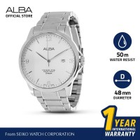 Jam Tangan Pria Alba Analog Stainless Steel AS9B13 Original