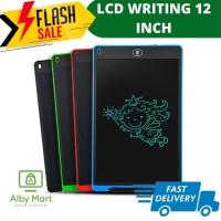 LCD Writing Tablet Drawing 12 Inch - Papan tulis LCD anak Papan tulis