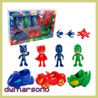 Sale Figure Pj Masks 1 Set Isi 11 Pcs Atau Figurine Pj Mask Atau Kado