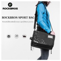Rockbros Tas Gym Jogging Tas Fitness Travel Waterproof Premium Stylish