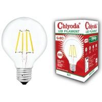 LAMPU LED FILAMEN CHIYODA G80 4W E27/KUNING BENING