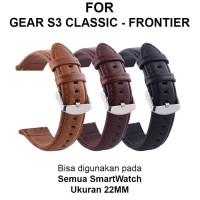 Strap Band Samsung Gear S3 Classic Frontier 46mm tali jam 22mm