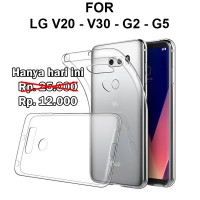 Ultra clear case LG V20 - V30 - G2 - G5 softcase casing cover tpu thin