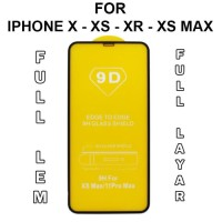 Tempered Glass iPhone X - XS - XR - XS Max anti gores full layar hp