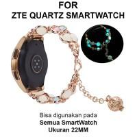 Strap Band ZTE Quartz Smart Watch Smartwatch tali jam 22mm AGATE
