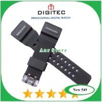 Tali Jam Tangan Digitec 2102T DG2102T DG-2102T List Putih