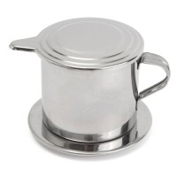XProject Filter Saring Kopi Vietnamese Coffee Drip Pot Stainless Steel