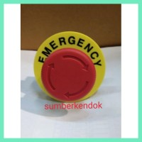 Terbaru Tombol Emergency Stop Push Lock 22Mm Plus Name Plate Tage