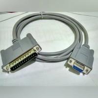 Kabel Printer 1.5M Serial DB9 F - DB25 M Original Epson