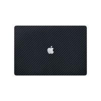 Skin Protector Macbook Pro 16 Inch - Black Carbon Vinyl FRONT