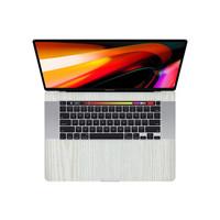 Premium Skin Protector Macbook Pro 16 Inch - 3M White Wood INSIDE
