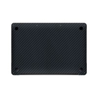 Premium Skin Protector Macbook Pro 16 Inch - Black Carbon Vinyl BOTTOM