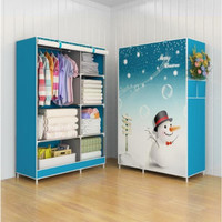 Lemari Pakaian Multifunction Wardrobe With Cover