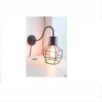L689 lampu dinding vintage hias indoor retro dekorasi kafe