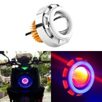 LAMPU LED MOTOR MOBIL U12 PROJECTOR HEADLAMP BULAT ANGEL EYE