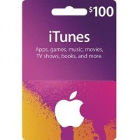 Apple iTunes Gift Card Digital Code USD $ 100 FOR US ACCOUNTS ONLY