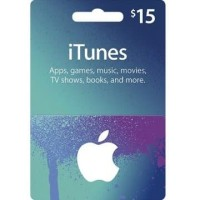 Apple iTunes Gift Card Digital Code USD $ 15 FOR US ACCOUNTS ONLY