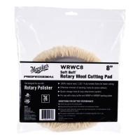 "Meguiar's WRWC8 Soft Buff Rotary Wool 8"" Cutting Pad"