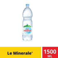 Le Minerale 1500ml. Gojek only.