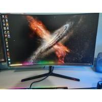 """SECOND Monitor LED SAMSUNG 32"""" Curved WQHD Gaming C32JG50 /C32JG50QQE"""