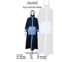 Blue Widow Dress