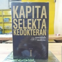 Kapita selekta kedokteran edisi 4 buku 1