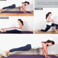 Power Band Fitness // Tali Rubber Flexibel Karet Olahraga Yoga