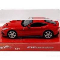 HOTWHEELS FERRARI F12 RED