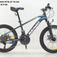 Sepeda Anak MTB 20 Genio M-346 by United Rem Disc