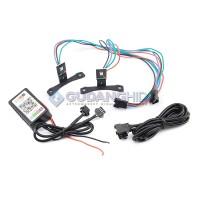 """Bluetooth Demon Devil Eyes RGB LED Lensa Projie 2.5"""" MH1 G1 AES Vahid"""