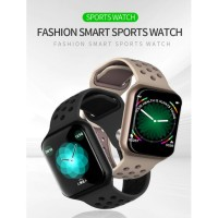 Jam Tangan Apple Watch F8 Smartwatch Heart Monitor Running Watch 38mm